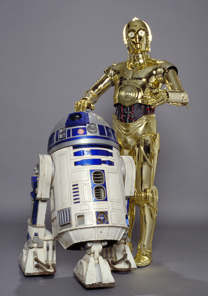 R2d2 And C3po Wallpaper C-3PO and R2-D2 appear...